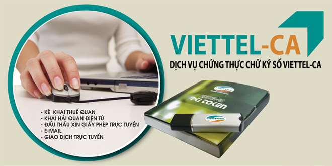 Đăng ký chữ ký số viettel tại Quảng Ngãi